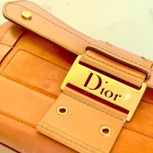 AUTHENTIC VINTAGE DIOR SADDLE BAG * STELLAR * RARE